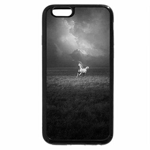 iPhone 6S Plus Case, iPhone 6 Plus Case (Black & White) - follow your dreams
