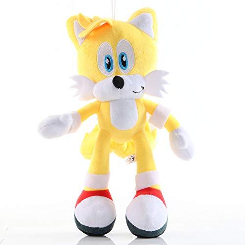TECHVIA Plush Dolls The Hedgehog Plush Toy 28cm Stuffed Animal Doll Toys Anime Game Doll Baby Birthday Gifts Party…