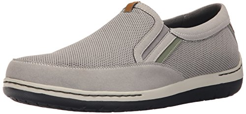(Dunham Men's Fitsync Slip On Shoe,Grey,10 D US)