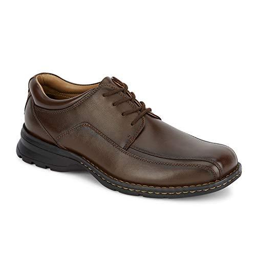 Dockers Men's Trustee Leather Oxford Dress Shoe,Dark Tan,12 M US (Lace Oxford Shoes)