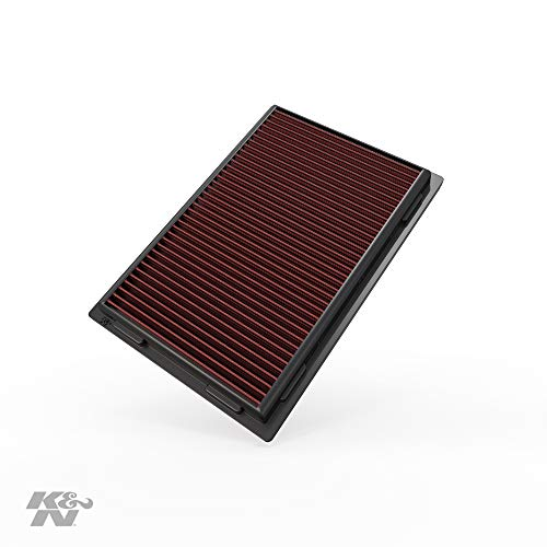 K&N Engine Air Filter: High Performance, Premium, Washable, Replacement Filter: 2006-2018 Toyota/Lexus (Avalon, Rav4, Camry Hybrid, Sai, ES300h, LS 460, LS600h), 33-2381