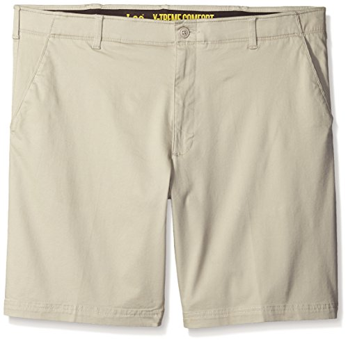 LEE Men's Big-Tall Performance Series Extreme Comfort Short, Stone, 46 by LEE