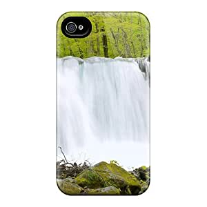 Cute High Quality Iphone 4/4s Oirase Waterfalls Case by runtopwell