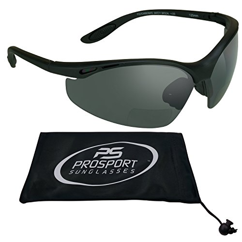 Bifocal sunglasses 1.5 with ANS Z87 Polycarbonate Lens with Microfiber Cleaning - Ans Sunglasses