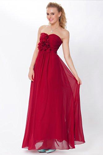 entero sin honor SEXYHER tirantes damas las cuerpo de Gorgeous de de vestido formal Encuadre EDJ1440 noche Escarlata de xqIPXq