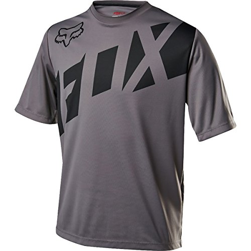 Fox Racing Youth Ranger Short Sleeve Jersey - Boys' Graphite/Black, (Fox Racing Short Sleeve Jersey)