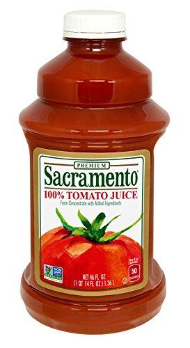 Sacramento Tomato Juice, 46oz Bottle (Pack of 8)