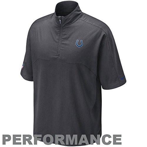 8e3883f7 Amazon.com : NIKE Indianapolis Colts Dri-Fit NFL Gray Short Sleeve ...