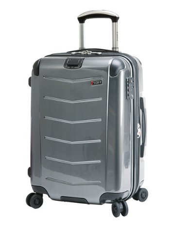 Ricardo Beverly Hills Luggage Rodeo Drive 21-Inch 4-Wheel Expandable Wheelaboard, Anthracite, One Size ()