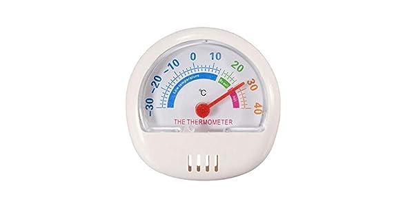 Amazon.com: Termómetro para nevera o congelador con esfera ...