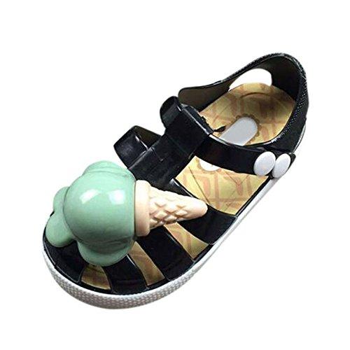 dchen Kleinkind L Schwarz Regen Weich Kinder Sommer M ugling Jungen Flache S Schuhe Sandalen Strand Rutsch Gelee Anti Eis Stiefel ssige Hzjundasi wE0BZqSx
