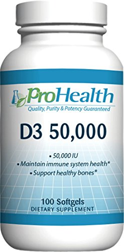 Extreme Gel Vitamins (ProHealth Vitamin D3 Extreme (Vitamin D Supplement) (1 Bottle, 100 Softgels))
