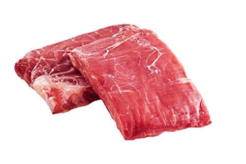 100% Grass Fed Beef Flank Steak 8oz. (8 Pack) (Beef Franks Fed Grass)