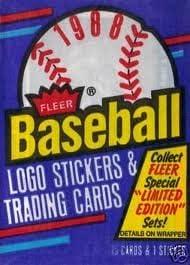 Amazoncom 1988 Fleer Baseball Logo Stickers Trading Cards 1