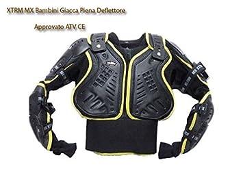 Niños cuerpo armadura Giubbotti de protección – Aprobado por Quad ATV Sport CE Niños XTRM MX