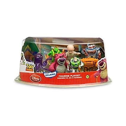 Amazon.com: Hard to Find Disney 7 Piece Toy Story 3 Playset ...