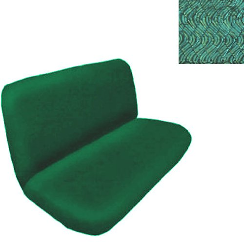 Universal Fit Swirl Rear / Bench Seat Cover - Green
