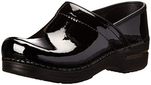 Dansko Professional Narrow Clog,Black Patent,37 EU/7 N US by Dansko
