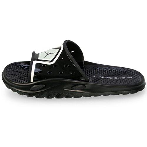 438a1bc22e34 Nike Men s NIKE JORDAN CAMP SLIDE 3 FLIP FLOPS 5 (BLACK BLACK WHITE) - Buy  Online in UAE.