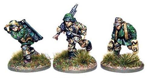 ahorre 60% de descuento 1943-45 Waffen-ss Mg42 Mmg Team Miniatures by Warlord Warlord Warlord Juegos  edición limitada