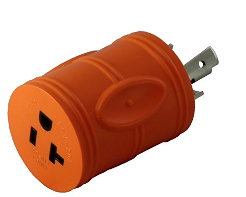 AC WORKS Shore Power Adapters (L5-30 30A Locking to 15/20A Household) ()