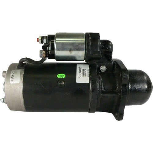 DB Electrical SBO0065 New Starter For Atlas Claas Deutz Fahr Iveco Liebherr, International Backhoe, Yumbo, Khd Tractor D Dx Series, New Holld Steer Loader IMI25002-009 IS0551 IS0552 MS220 117-3240