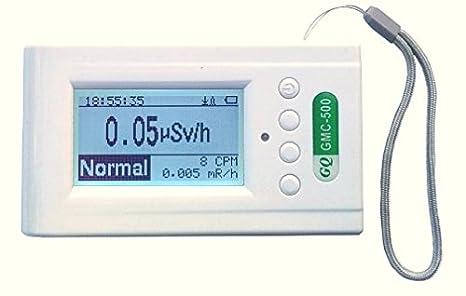 GQ gmc-500 contador Geiger detector de radiación Beta Gamma Dosímetro de rayos X: Amazon.es: Industria, empresas y ciencia