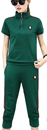 (アイユウガ)I-YUUGAジャージ レディース 上下 スポーツウェア ゴルフウェア スウェット ポロシャツ セットアップ 上下セット ルームウェア スウェットセットアップ カジュアル
