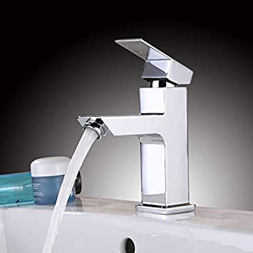Einhebelmischer Mischbatterie Waschbecken Wasserhahn Badarmatur Waschtischamatur