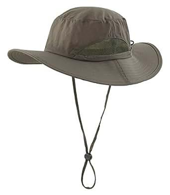 Home prefer men 39 s sun hats mesh sides breathable light for Home prefer hats