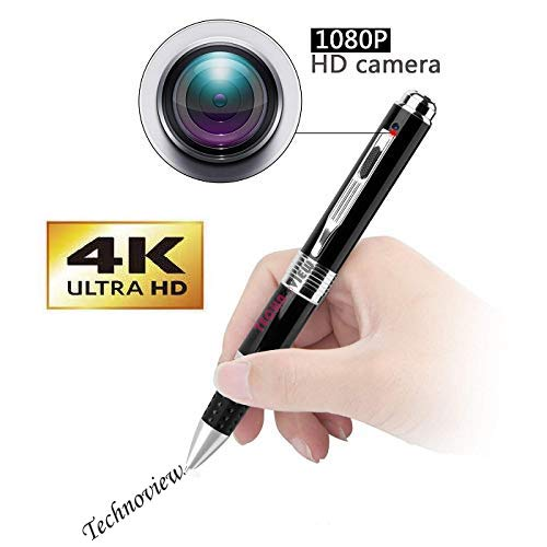 Inovics Spy Pen Camera with Lens Cover 1080p 4K Full HD Video and Audio Recorder 12 megapixel Lens for Clear Recording for Home Office Room Meeting Hidden Cam in Pen Price & Reviews