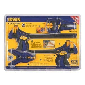 IRWIN Tools QUICK-GRIP Clamp Set, 8 Piece, 4935502 from Irwin Tools