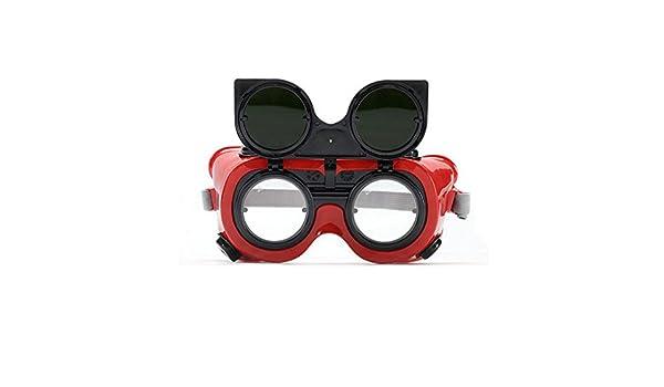 YUNFEILIU Gafas De Soldador/Oscuridad 5 Gafas De Soldar/Gafas A Prueba De Arco: Amazon.es: Deportes y aire libre