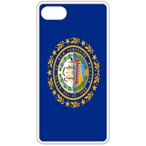 New Hampshire NH State Flag White Apple Iphone 4 - Iphone 4s Cell Phone Case - Cover