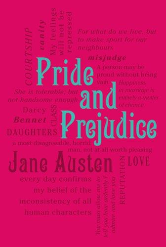 Pride Prejudice Word Cloud Classics
