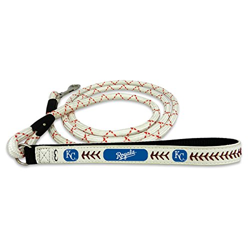 (GameWear Kansas City Royals Frozen Rope Baseball Leather Leash, Large)
