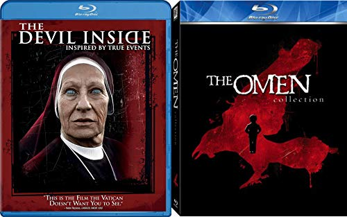 It's in Me! Blu-ray The Omen Box Set 666 Collection 4 Movies + The Devil Inside inspired by True Events 5 Movie Blu-ray Feature Horror Night Bundle