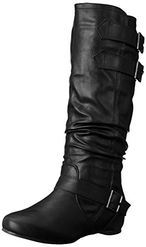Brinley Co Womens Cammie-WC Slouch Boot Black XnUhYt6