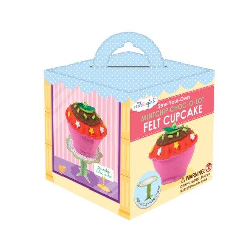 My Studio Girl Felt Cupcakes - Mint Chocolate -