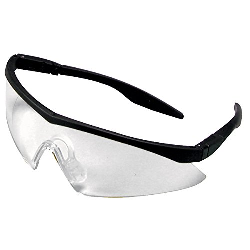 Safety Works 10021259 Straight Temple Safety Glasses, Clear