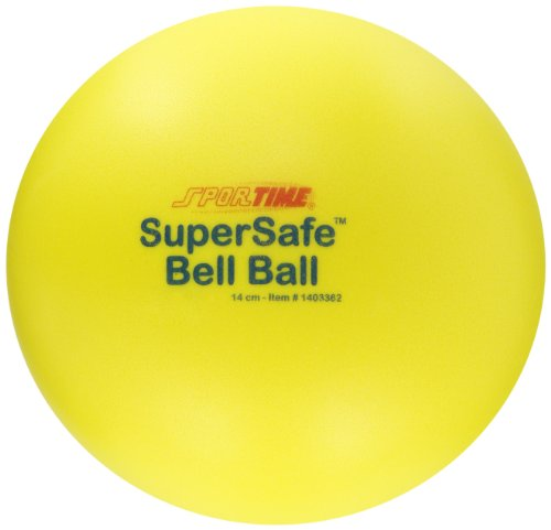 Sportime Supersafe Bell Ball - 5 1/2 inch ()