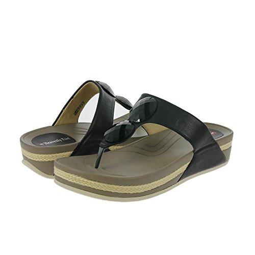 Heavenly Feet Sandalias de Laguna Negras Negro