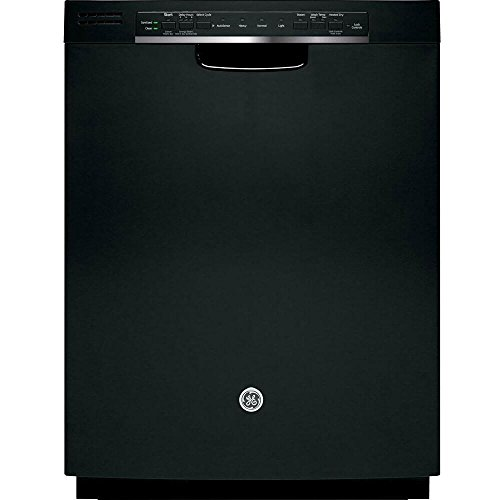 GE GDF520PGJBB 24″ Built In Full Console Dishwasher with 4 Wash Cycles, in Black