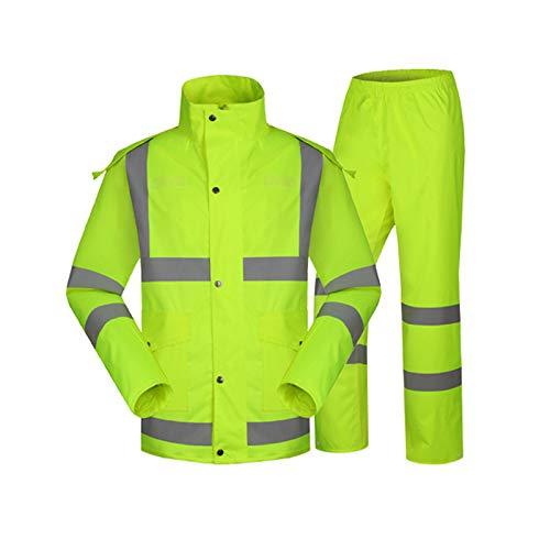 HLXXX Ropa Reflectante Verde Fluorescente para Exteriores ...
