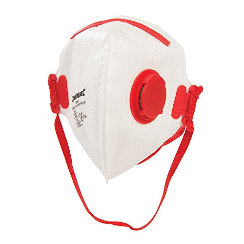 Silverline 598550 Fold Flat Face Mask Valved FFP3 NR FFP3 NR Single