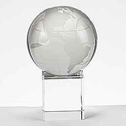 Badash Crystal Globe On Stand 4.5 Inch by Badash