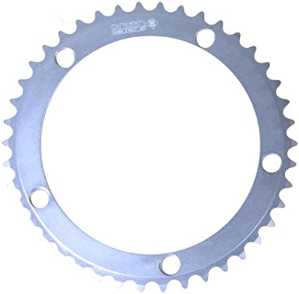 NEW BMX Fixie Fixed Gear Sprocket Chainring 44t silver
