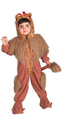 Wizard Of Oz Cowardly Lion Costume - Deluxe (3-4 years with Bracelet for (Lion From The Wizard Of Oz Costumes)