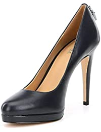 Womens Antoinette Leather Closed Toe Classic Pumps