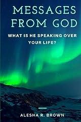 Messages from God: A Prayer Journal Paperback